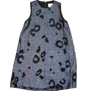 Kate Spade Sequin Leopard Shift Dress